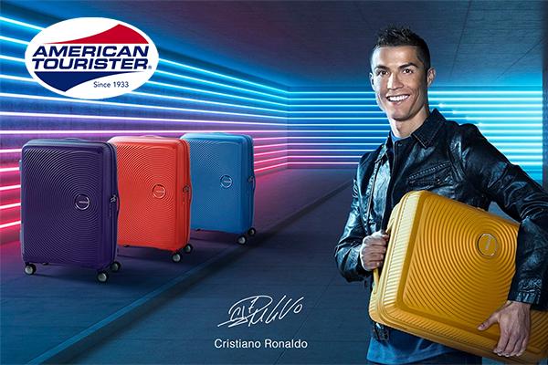 American Tourister a Christiano Ronaldo