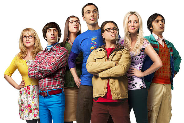 Titan v The Big Bang Theory a Desperate Housewives
