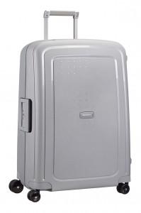 Samsonite Cestovní kufr S'Cure Spinner 10U 70 l – stříbrná