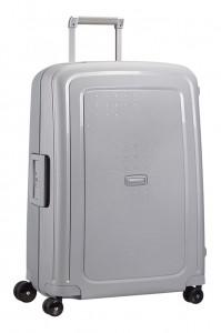 Samsonite Cestovní kufr S'Cure Spinner 10U 102 l – stříbrná