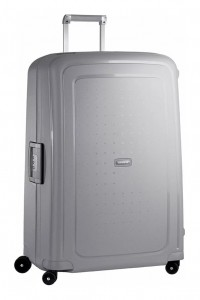 Samsonite Cestovní kufr S'Cure Spinner 10U 138 l – stříbrná