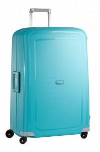 Samsonite Cestovní kufr S'Cure Spinner 10U 138 l – tyrkysová
