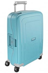 Samsonite Kabinový cestovní kufr S'Cure Spinner 10U 34 l – tyrkysová