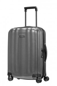 Samsonite Kabinový cestovní kufr Lite-Cube DLX Spinner 82V 36,5 l – šedá