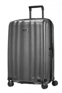 Samsonite Cestovní kufr Lite-Cube DLX Spinner 82V 96 l – šedá