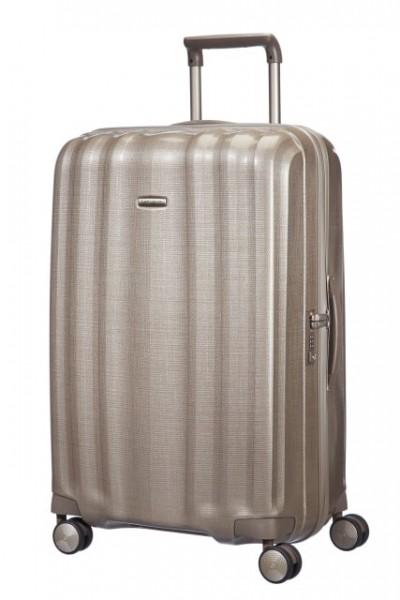 Samsonite Cestovní kufr Lite-Cube Spinner 33V 96 l – zlatá