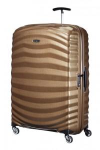 Samsonite Cestovní kufr Lite-Shock Spinner 98V 124 l – hnědá