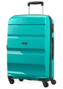 American Tourister Cestovní kufr Bon Air Spinner 85A 57,5 l – tyrkysová