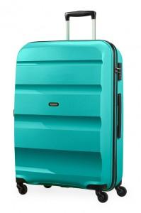 American Tourister Cestovní kufr Bon Air Spinner 85A 91 l – tyrkysová