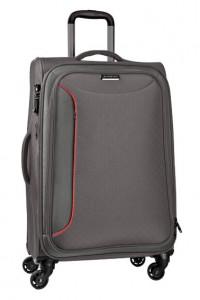 March Velký cestovní kufr Delta 104 l – šedá
