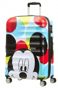 American Tourister Cestovní kufr Wavebreaker Disney Spinner 31C 64 l – Mickey Close-Up