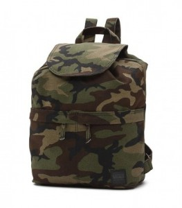 VANS Batoh WM LAKESIDE BACKPACK Camo 16 l
