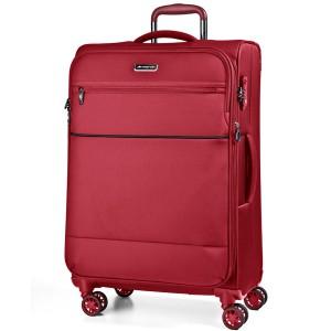 March Velký cestovní kufr Easy 104 l – červená