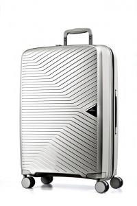 March Cestovní kufr Gotthard 70 l – stříbrná