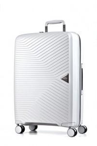March Cestovní kufr Gotthard 70 l – bílá
