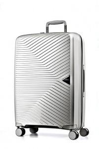 March Kabinový cestovní kufr Gotthard 39 l – stříbrná
