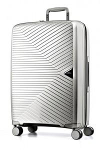 March Cestovní kufr Gotthard 111 l – stříbrná