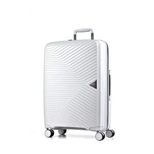 March Cestovní kufr Gotthard 111 l – bílá