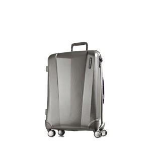 March Střední cestovní kufr Vision 71 l – šedá