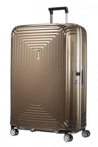 Samsonite Cestovní kufr Neopulse Spinner 44D 124 l – hnědá