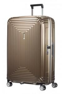 Samsonite Cestovní kufr Neopulse Spinner 44D 94 l – hnědá