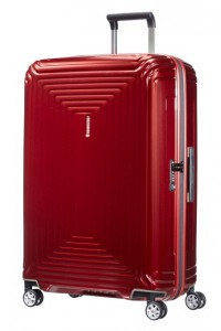 Samsonite Cestovní kufr Neopulse Spinner 44D 94 l – červená