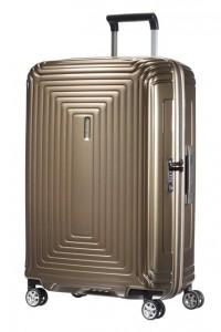 Samsonite Cestovní kufr Neopulse Spinner 44D 74 l – hnědá