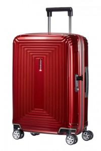 Samsonite Kabinový cestovní kufr Neopulse Spinner 44D 38 l – červená