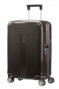 Samsonite Kabinový cestovní kufr Neopulse Spinner 44D 38 l – lesklá černá