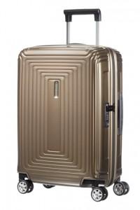 Samsonite Kabinový cestovní kufr Neopulse Spinner 44D 38 l – hnědá