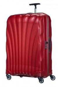 Samsonite Cestovní kufr Cosmolite Spinner V22 123 l – červená