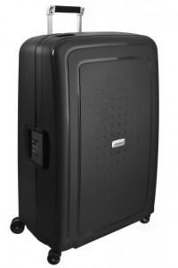 Samsonite Cestovní kufr S'Cure DLX Spinner U44 138 l – tmavě šedá