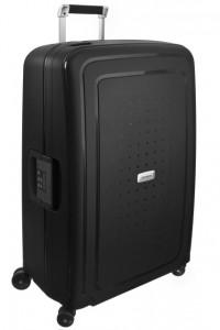 Samsonite Cestovní kufr S'Cure DLX Spinner U44 102 l – tmavě šedá