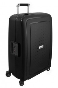 Samsonite Cestovní kufr S'Cure DLX Spinner U44 79 l – tmavě šedá