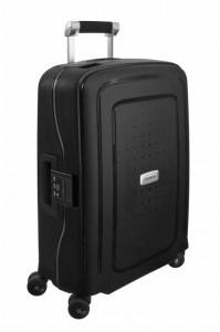 Samsonite Kabinový cestovní kufr S'Cure DLX Spinner U44 34 l – tmavě šedá
