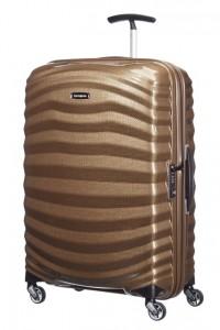 Samsonite Cestovní kufr Lite-Shock Spinner 98V 73 l – hnědá