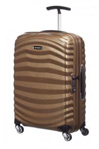 Samsonite Kabinový cestovní kufr Lite-Shock Spinner 98V 36 l – hnědá