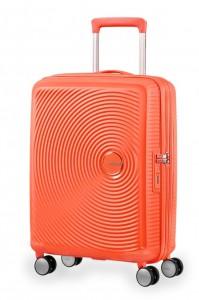 American Tourister Kabinový cestovní kufr Soundbox Spinner EXP 32G 35,5/41 l – oranžová