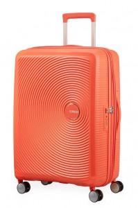 American Tourister Cestovní kufr Soundbox Spinner EXP 32G 71,5/81 l – oranžová