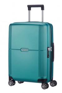 Samsonite Kabinový cestovní kufr Orfeo Spinner CC4 37 l – tyrkysová