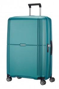 Samsonite Cestovní kufr Orfeo Spinner CC4 96 l – tyrkysová