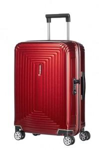 Samsonite Kabinový cestovní kufr Neopulse Spinner 44D 44 l – červená