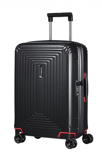 Samsonite Kabinový cestovní kufr Neopulse Spinner 44D 44 l – černá