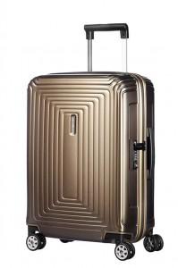 Samsonite Kabinový cestovní kufr Neopulse Spinner 44D 44 l – zlatá