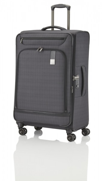 Titan Cestovní kufr CEO 4w L Glencheck 105/119 l