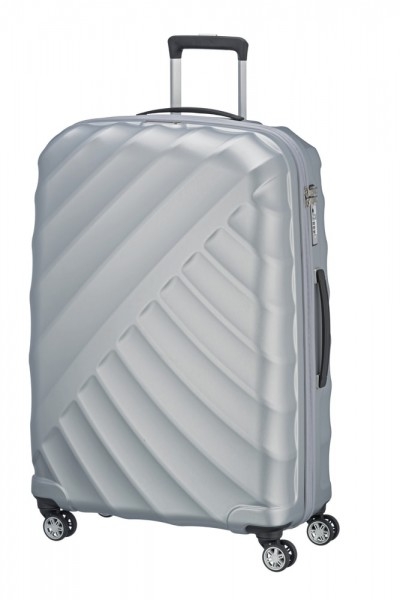 Titan Cestovní kufr Shooting Star 4w L Silver 109 l