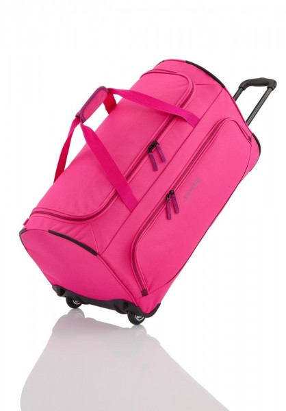 Travelite Travelite Basics Fresh Wheeled Duffle Pink