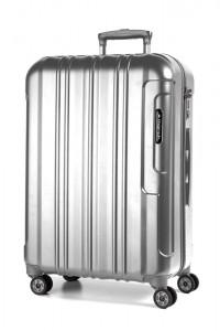March Cestovní kufr Cosmopolitan Special Edition 69 l – stříbrná