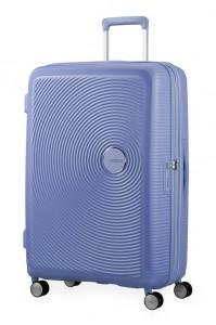 American Tourister Cestovní kufr Soundbox Spinner EXP 32G 97/110 l – levandulová