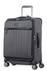 Samsonite Kabinový cestovní kufr Lite DLX Spinner EXP 64D 38,5/42 l – tmavě šedá